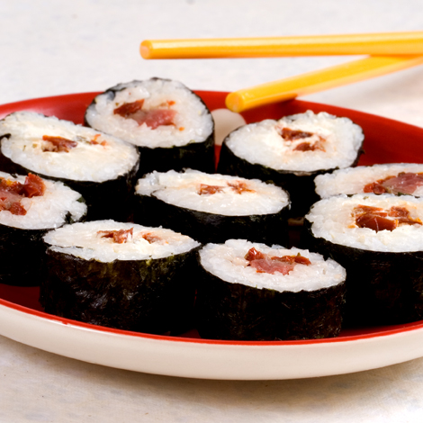 Makis fromage tomates