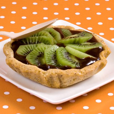 Tartelettes chocolat kiwi
