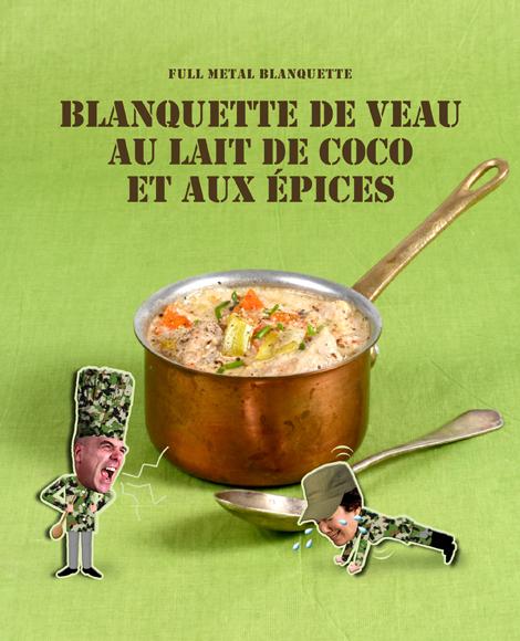Blanquette de veau au lait de coco