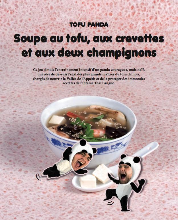 Tofu panda