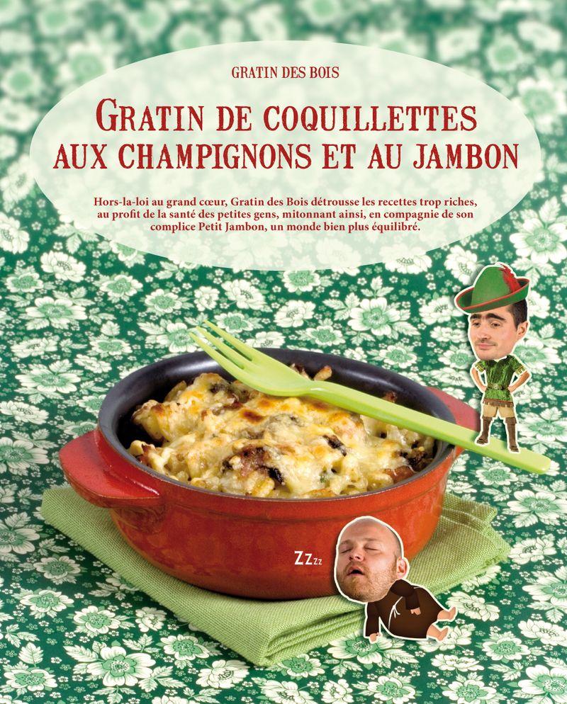 Gratin coquillettes champignons