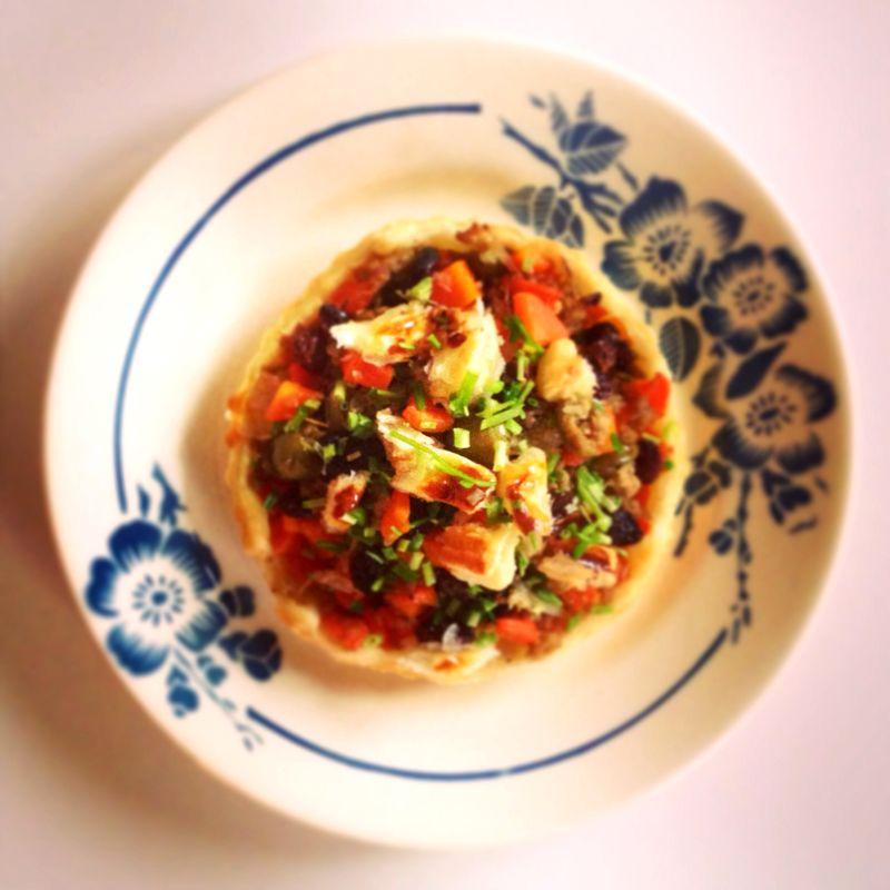 Tartelettes-boeuf-carottes-olives