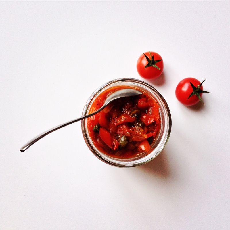 Confit-poivrons-tomates-gingembre