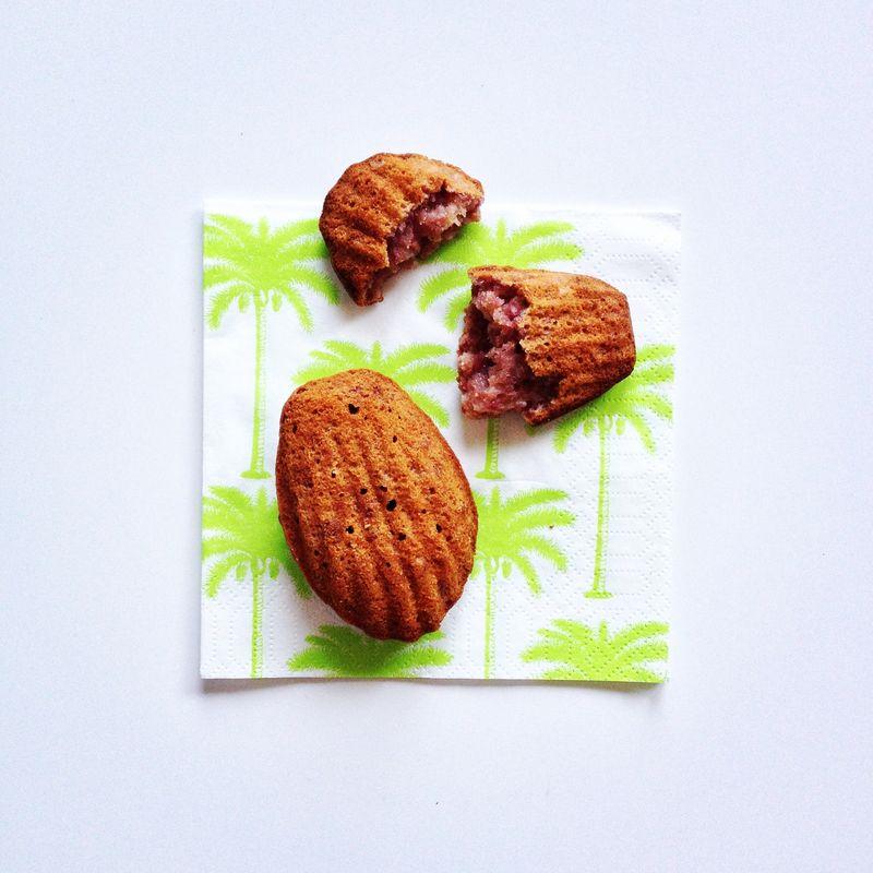 Madeleines-mascarpone-framboises-coco