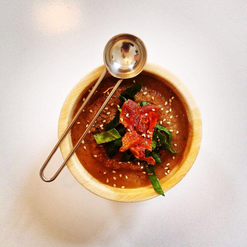 Cremeux-champignons-marrons-epinards-chorizo