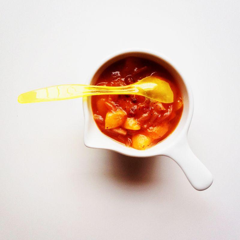 Chutney-echalotes-nectarines-abricots-airelles