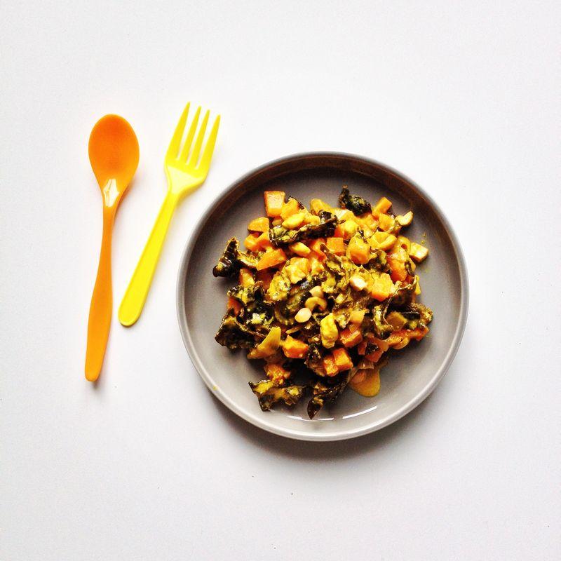 Sauce-carottes-miel-orange-champignons-noirs