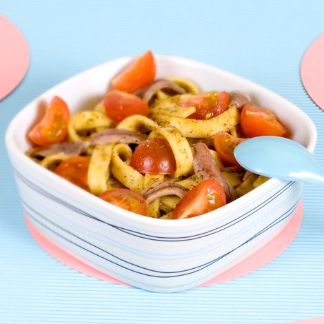 Salade_tagliatelles_anchois_pesto